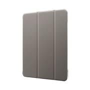LP-ITPM20CNTGY [iPad 11インチ 2020年モデル 用 Clear Note 背面クリアフラップケース グレー]