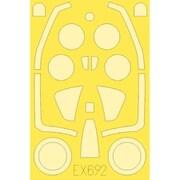 EDUEX692 FJ-2 フューリー 塗装マスクシール キティーホーク用 [1/48スケール マスクシール]
