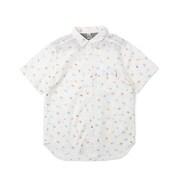 プリントシャツ CH02-1143 White Lサイズ [アウトドア シャツ メンズ]