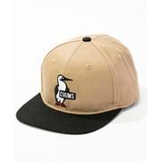 ライトブッシュパイロットキャップ Booby Logo Flat Cap CH05-1205 Beige [アウトドア 帽子]
