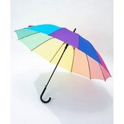 ブービーレインボーアンブレラ Booby Rainbow Umbrella CH62-1454 Rainbow [長傘]
