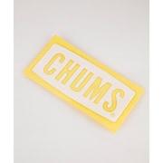 カッティングシートチャムスロゴM Cutting Sheet CHUMS Logo M CH62-1483 [アウトドア系 ロゴステッカー]