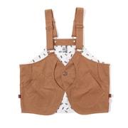 キャンピングベスト Camping Vest CH04-1219 Beige Mサイズ [アウトドア ベスト メンズ]