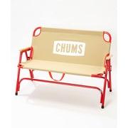 チャムスバッグウィズベンチ CHUMS Back with Bench CH62-1499 Beige/Red [アウトドア チェア]