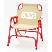 チャムス バックウィズチェアー CH62-1501 Beige/Red [アウトドア チェア]