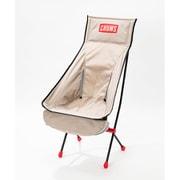 フォールディングチェアブービーフットハイ Folding Chair Booby Foot High CH62-1171 Gray [アウトドア チェア]