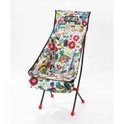フォールディングチェアブービーフットハイ Folding Chair Booby Foot High CH62-1171 Hippie [アウトドア チェア]