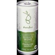 バロークス スパークリング缶ワイン 白 13度 250ml オーストラリア [スパークリングワイン]