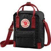 カンケン スリング Kanken Sling 23797 550-326 Black-Ox Red [アウトドア ショルダーバッグ]