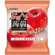 ぷるんと蒟蒻ゼリーパウチ アップル 6個入
