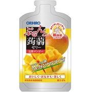 ぷるんと蒟蒻ゼリーパウチショット 完熟マンゴー 100g