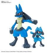 ポケモンプラモコレクション 44 セレクトシリーズ リオル & ルカリオ [キャラクタープラモデル 2021年3月再生産]