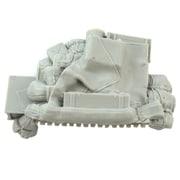 PZ35545 独・III号突撃砲G型用・冬季車外装備品 [1/35スケール レジン製ディティールアップパーツ]