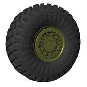 PZ35585 露・Kamaz 5394タイフーン用タイヤホイール [1/35スケール レジン製ディティールアップパーツ]