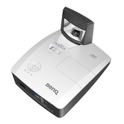 MW855UST+ [BenQ DLP 超短焦点プロジェクター WXGA 3500lm HDMIx1 D-sub x1 スピーカー10wx2 壁掛け金具同梱]