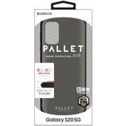 LP-20SG1PLAMSV [Galaxy S20 用 耐衝撃ハイブリッドケース PALLET AIR マットシルバー]