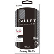 LP-20SG1PLAMBK [Galaxy S20 用 耐衝撃ハイブリッドケース PALLET AIR マットブラック]