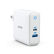 A2322121 [Anker PowerPort Atom III Two Ports Power Delivery対応 60W USB-C 急速充電器]