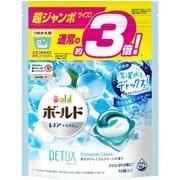 ボールド ジェルボール3D 爽やかプレミアムクリーンの香り 詰替 超ジャンボ 46個 [ジェルボール洗剤]