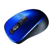 MA-BTBL155BL [静音Bluetooth 5.0 ブルーLEDマウス 5ボタン・ブルー]