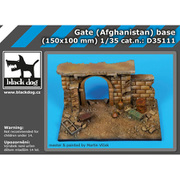 HAUD35111 アフガニスタンの門 ベース [1/35スケール レジンキット]