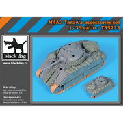 HAUT35223 M4A2 タラワ 装備セット [1/35スケール レジン製ディティールアップパーツ]