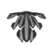 REZZA-2 A.I.ネット ブラック [ヘルメットアクセサリ]