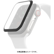 OVG002ZZBLK [SCREENFORCE TrueClear Curve Apple Watch用 画面保護シール (Series 5/4、44mm)]