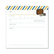 351289 [memoroku(メモ録) カード 旅]