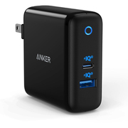 A2322111 [Anker PowerPort Atom III (Two Ports) black AC充電器 ブラック]