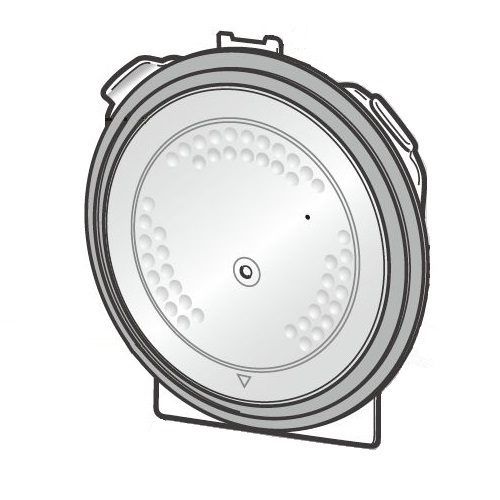 320A2380 [炊飯器用内蓋K]