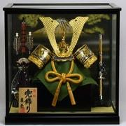 Koei-407-3 [兜ケース飾り 13号彫金兜]