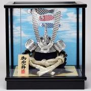 Koei-548-S [兜ケース飾り 5号シルバー兜]