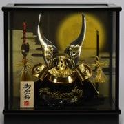 Koei-550 [兜ケース飾り 8号ゴールド盛上貫前兜]
