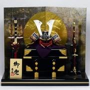 Koei-529108-2 [7号兜 赤紫裾濃威 飾り]