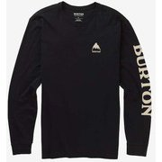 Men's Elite Long Sleeve T Shirt 20392102001 True Black Mサイズ [アウトドア カットソー]
