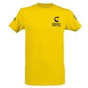 グリベルロゴT GV-ACTSHI イエロー XLサイズ [アウトドア カットソー メンズ]