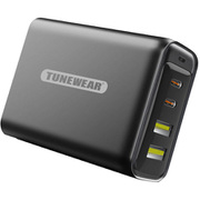 TUN-IP-200107 [TUNEMAX 100W Gan Wall Charger Black]