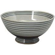 錆うずライン 軽々特大茶碗