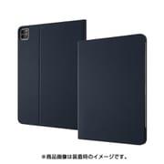 RT-PA15LC1/DN [iPad Pro 2020年モデル 11inch 第2世代 レザーケース スタンド機能付 ダークネイビー]