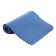 Yoga-mat-NBR-10-02-Blue [ヨガマット 厚さ10mm ブルー]