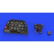 EDU644049 P-51D-5 ルック 計器盤 エアフィックス用 [1/48スケール レジン製ディティールアップパーツ]