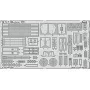 EDU72702 F-14A 外装エッチングパーツ アカデミー用 [1/72スケール エッチングパーツ]
