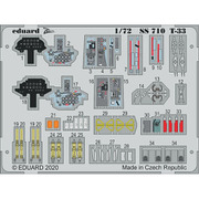 EDUSS710 T-33 ズームエッチングパーツ プラッツ用 [1/72スケール エッチングパーツ]