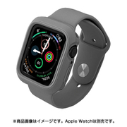 JGWSSCW5S0-GY [AppleWatch 4&5 40mm 用 シンプルモノカラーバンド GY]