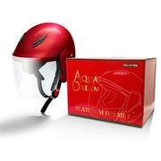 AD-TQ100-CR [オートバイ用ヘルメット フリーサイズ(57cm~60cm) スリークウォータータイプ キャンディーレッド]
