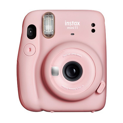 INSTAX MINI11 BLUSH PINK [チェキカメラ instax mini 11 ブラッシュピンク]