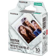 INSTAX SQUARE INSTANT FILM WW 1 WHITE MARBLE [チェキフィルム instax SQUARE用 ホワイトマーブル 10シート]
