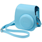 INSTAX MINI 11 CAMERA CASE BLUE [チェキカメラ instax mini 11 専用ケース ブルー]