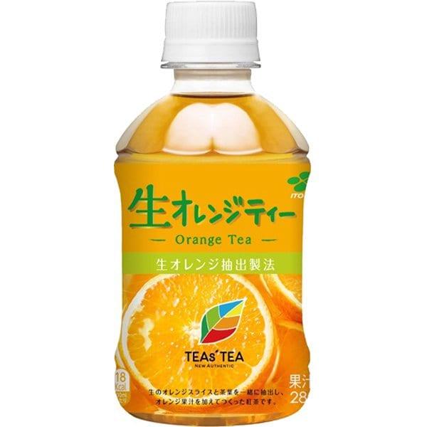 TEAs'TEA NEW AUTHENTIC 生オレンジティー 280ml×24本 [紅茶飲料]
